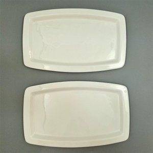 Cutco Plates Set Rectangle Dinner Serving Platter